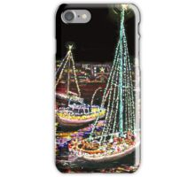 Newport Beach Christmas Boat Parade iPhone Case/Skin