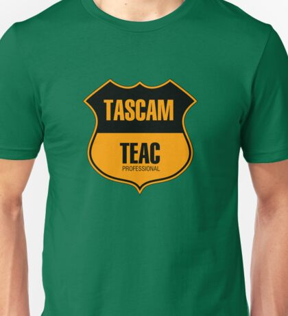 Tascam Teac Professional Unisex T-Shirt