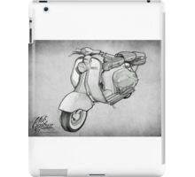 Lambretta 150ld Pencil Sketch iPad Case/Skin