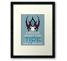 Nami - League of Legends Framed Print
