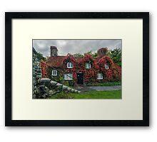 Autumn Cottage Framed Print