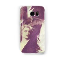 The Lady of Ravens surreal artwork Samsung Galaxy Case/Skin