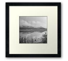 Loch Morlich reflections Framed Print
