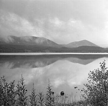Loch Morlich reflections by PigleT
