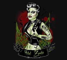 Rebel Zombie tattoo pin up  Tank Top