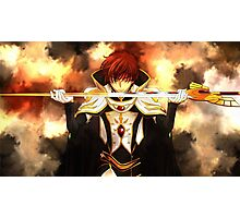 Code geass Photographic Print