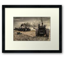 Steaming Giants  Framed Print