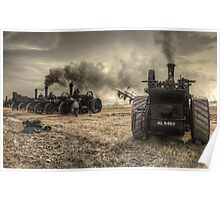 Steaming Giants  Poster