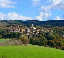 San Casciano dei Bagni, Tuscany, Italy by Andrew Jones