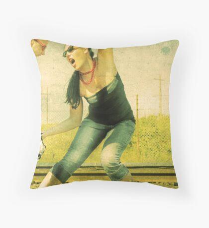 Anger Management 101 Throw Pillow
