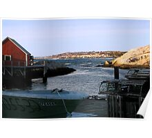 Peggy's Cove, NS (2) Poster