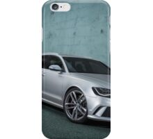 Audi RS6 Avant iPhone Case/Skin