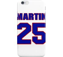 Art, Malone, 25, team, jersey number, shirt number, sweater number, t-shirt, National, football, player, NFL iPhone Case/Skin