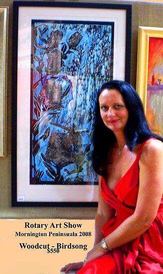 "Mornington Peninsula Rotary Art Show 2008 by Belinda ""BillyLee"" NYE (Printmaker)"