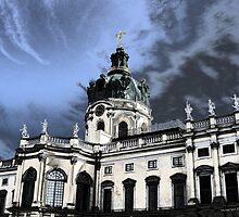 castle charlottenburg in berlin germany by fuxart