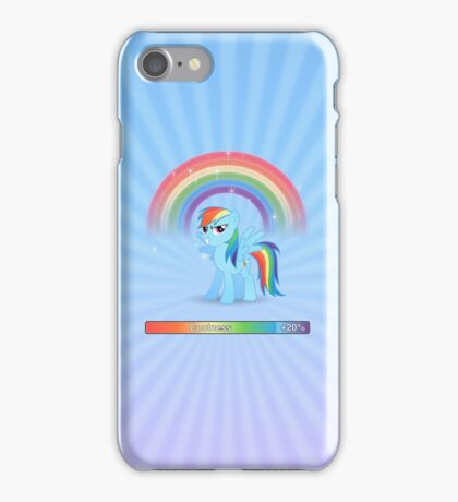 20% cooler - with text iPhone Case/Skin
