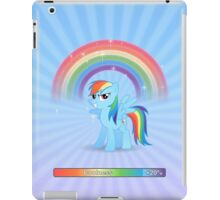 20% cooler - with text iPad Case/Skin
