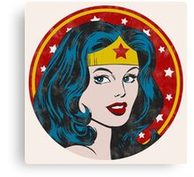 Princess Diana of Themyscira (Vintage) Canvas Print