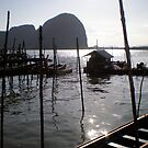Thai Fishing Village 2 by Vee T