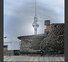 fernsehturm in berlin germany by fuxart