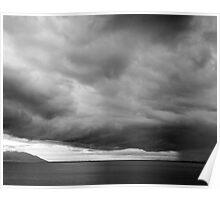 Ross Dam Storm Poster