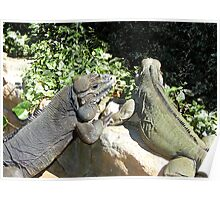 """THINK LIZARDS: """"The Proposal...Lizards in Love"""" Poster"""