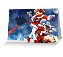 Evangelion Greeting Card