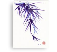 """""""Relax"""" sumi-e ink brush painting/drawing Metal Print"""
