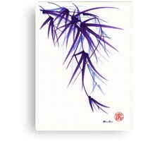 """Relax"" sumi-e ink brush painting/drawing Canvas Print"
