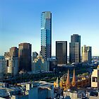 Melbourne Skyline by Lachlan Doig