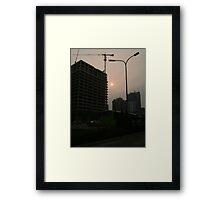 Skyscape 1 - Beijing Framed Print