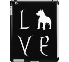 Love Your Pit Bull? iPad Case/Skin