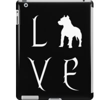 Love Your Pit Bull? iPad Case/Skin