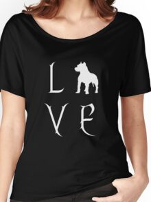 Love Your Pit Bull? Women's Relaxed Fit T-Shirt