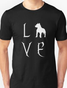 Love Your Pit Bull? Unisex T-Shirt