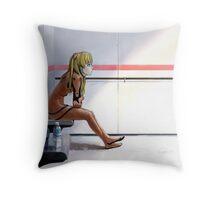 Evangelion Throw Pillow