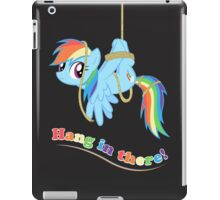 Hang in there, Pony! iPad Case/Skin