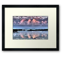 Dolphin Point Reflections Framed Print