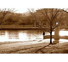 Autumn Loneliness Photographic Print