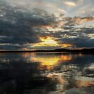 Sunset Over Lac Brome, Québec, 2014  by heatherfriedman