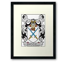 Swindell Coat of Arms Framed Print