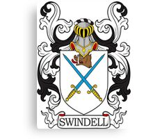 Swindell Coat of Arms Canvas Print