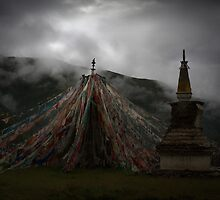 Tibetan Prayer Flag_2781p by jiashu xu