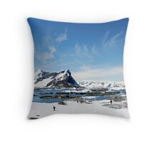 Lalour Island Magic Throw Pillow