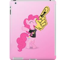 Ponies all the way down - black iPad Case/Skin