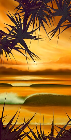 Pandanus Sunrise by ShaneMartin