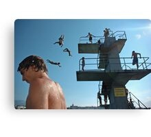Geneva Lake Divers Canvas Print