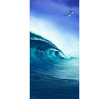 Blue Wave  Photographic Print