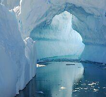 Keyhole Ice Bridge by Clare McClelland