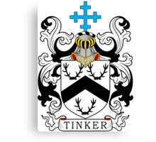 Tinker Coat of Arms Canvas Print